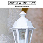 Applique type Monaco n°2