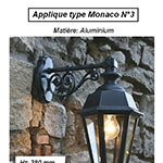 Applique type Monaco n°3