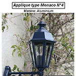 Applique type Monaco n°4
