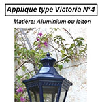 Applique type Victoria n°4