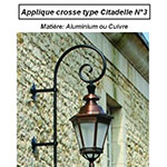 Applique crosse type Citadelle n°3