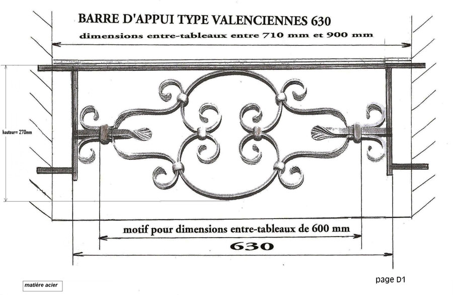 barre d appui de fentre barre duappui de fenetre garde corps balustrade loiselet dw with barre. Black Bedroom Furniture Sets. Home Design Ideas
