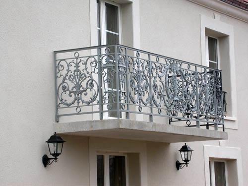 Serrurerie du batiment garde corps balcon rampe d 39 escalier for Jardin val de saone